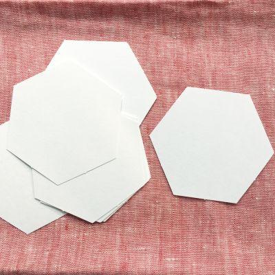Hexagon Papierschablonen 1,5 inch