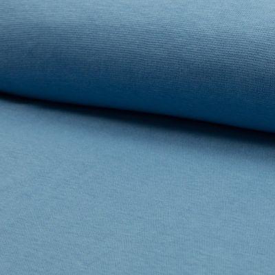 Bündchenware blau 70 - 75 cm breit