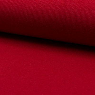 Bündchenware rot 70 - 75 cm breit