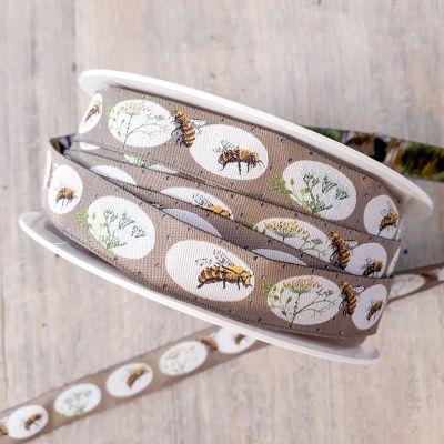 Webband Bienenglück 16mm