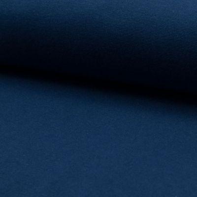 Bündchenware dunkelblau 70 - 75 cm breit
