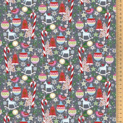 BW-Stoff Weihnachtsspielerei 145 cm breit