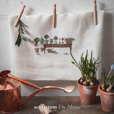 Einzelmuster Gartentisch