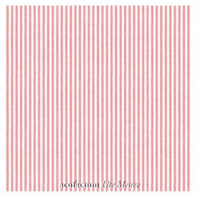 BW-Stoff rot-weiß gestreift