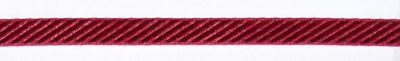 Samtband mit Prägung rot 9 mm breit