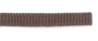 Ripsband Dolce graubraun 10 mm breit