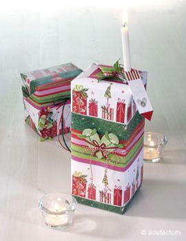 Geschenkpapier-Set Päckchenparade