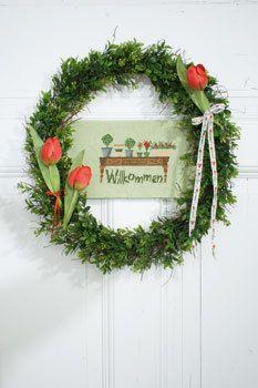 Stickvorlage Gartenzeit - 82138